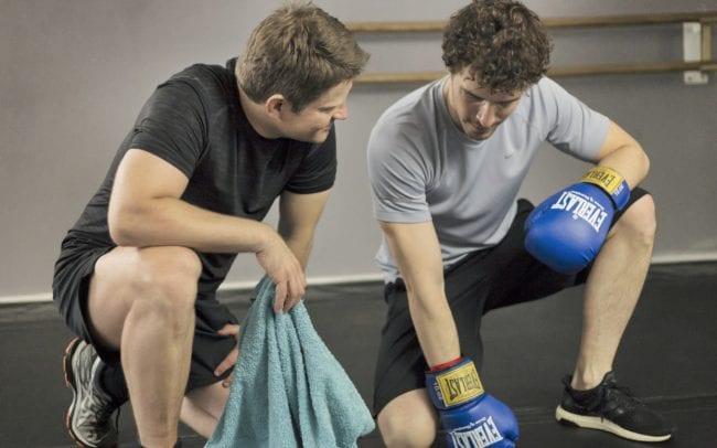Boxen Businesstraining mit Bernd Wagner